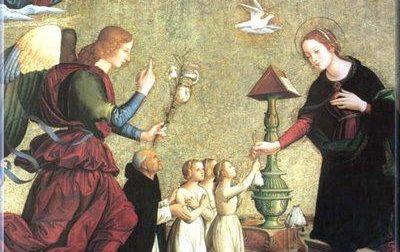 """GENIUS LOCI <BR> 25 marzo, """"carità"""" della Madonna"""