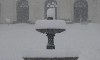 Oropa sotto la neve