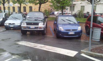 Parcheggi grotteschi o surreali?