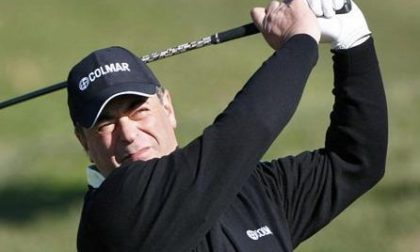 Costantino Rocca a Le Betulle <br> per insegnare il golf