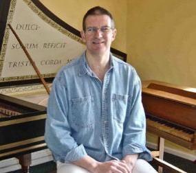 Gary Sieling all'organo