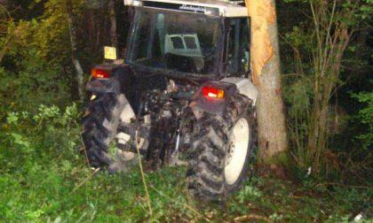 Ubriaco: sigilli al trattore
