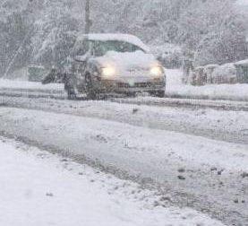 Neve, allerta della Protezione civile