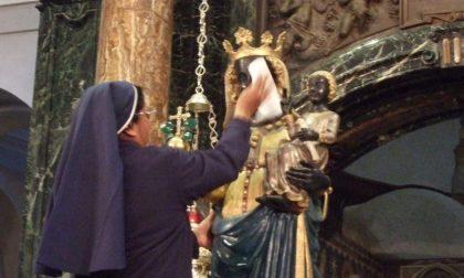 Oropa 2020, il tour della Statua della Madonna di Oropa