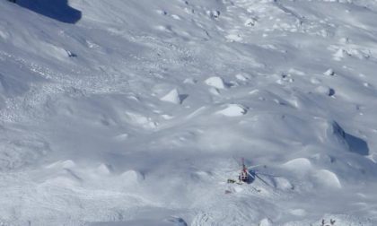 Salvi i due alpinisti travolti dalla valanga