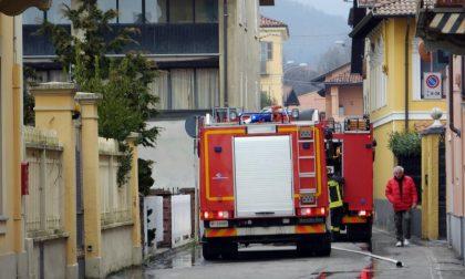 Altro incendio al tetto di una casa al Barazzetto