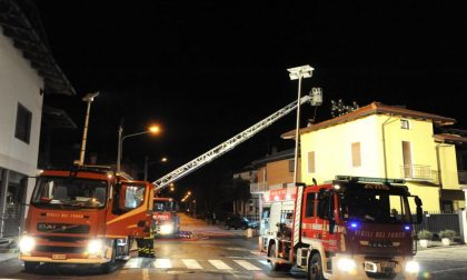 Brucia una casa a Valdengo