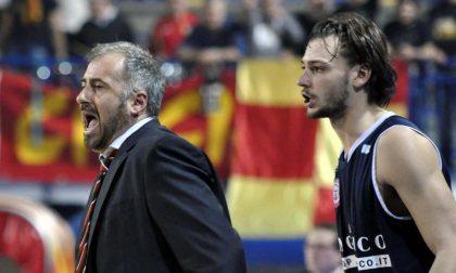 Coach Corbani: «Se vinciamo con Trapani, chiedo scusa a Crespi»