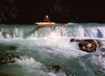 Kayakista muore in Valsesia
