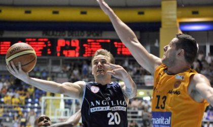 Torino fa la voce grossa, l'Angelico si arrende anche in gara3: 89-73