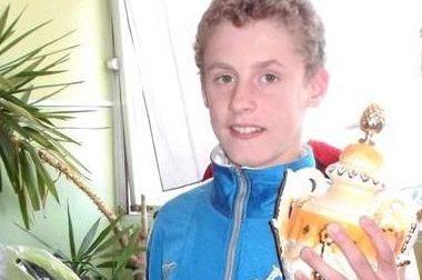 Campione italiano a 13 anni