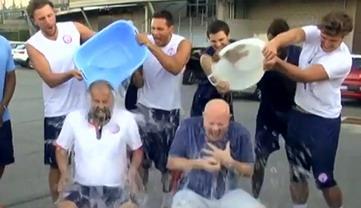#IceBucketChallenge – Doccia gelata per il Presidente Angelico e Coach Corbani