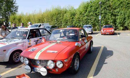Partenza Rallye Valli Biellesi