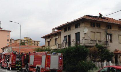 Brucia una casa a Chiavazza