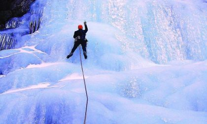 Rosazza capitale biellese dell'ice climbing
