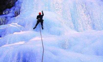 Rosazza capitale biellese dell'ice climbing