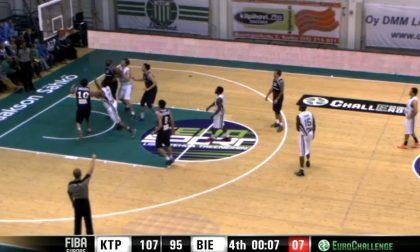 Basket EuroChallenge, la Bonprix sconfitta nell'esordio in Finlandia