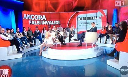 """Finta cieca"": Eco di Biella in tivù"