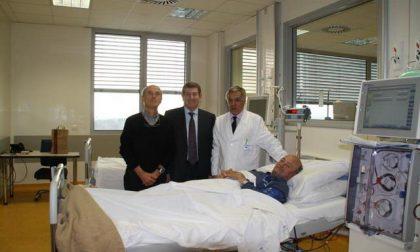 I primi pazienti nel nuovo ospedale