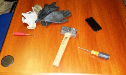 Rubano in una casa: arrestati