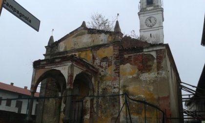 La chiesa di Vigellio pronta a rinascere