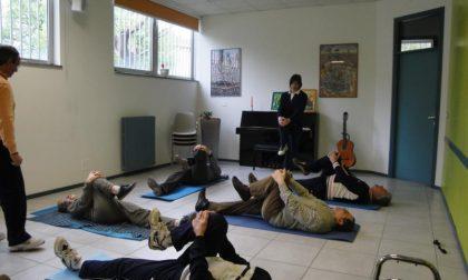 A Lessona ginnastica per i malati di Parkinson