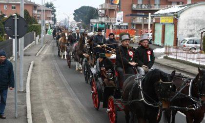 Festa dei carrettieri a Vigliano