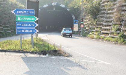 Galleria della Volpe: limiti a 50 km/h