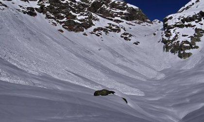 Gigantesca valanga sul Monte Rosso