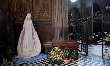 La Madonna del Piumin va all'ospedale