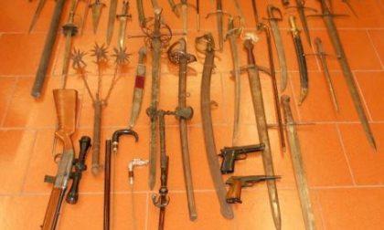 Tre nei guai per le armi