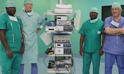 Mario e Quintino, due operatori sanitari dall'Africa a Biella
