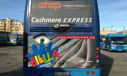 Parte sabato il Cashmere Express