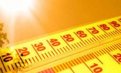 Super caldo estivo fino a venerdì