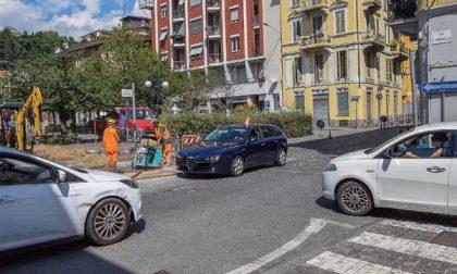 A Biella il via ai lavori in piazza Curiel