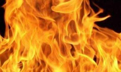 Prima le caldarroste, poi le fiamme