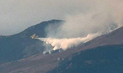 Quattro chilometri di fuoco in Valle Elvo