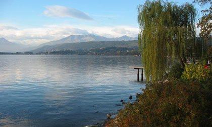 Un tuffo nel lago di Viverone il giorno di Capodanno