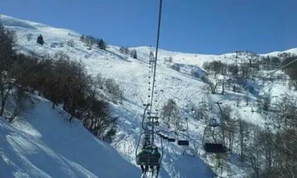 Mera, sulle piste con gli sci