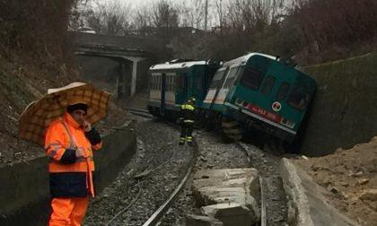Deraglia il treno Biella-Novara