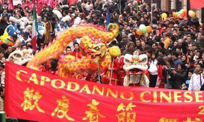 I cinesi festeggiano il Capodanno