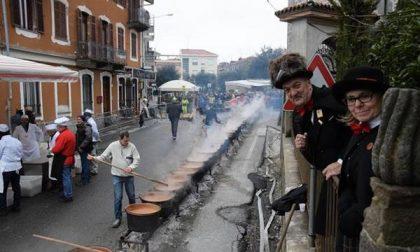 La pioggia non ferma la fagiolata di Chiavazza
