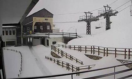 Neve oltre i 60 centimetri sui monti