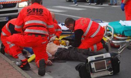 Pedone travolto da un'auto a Brusnengo
