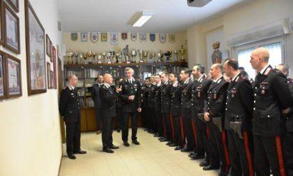 Il generale Micale in visita a Biella