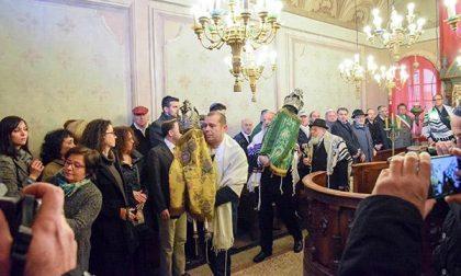 La comunità ebraica in festa per il rientro dell'antico libro delle preghiere