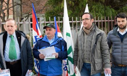 """Migranti in città, la protesta dei """"vicini"""""""