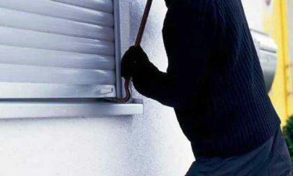 Proprietari in casa, ladri in fuga