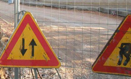 Strada Barazzetto chiusa da oggi
