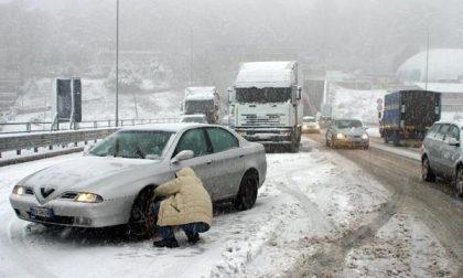Tre incidenti per colpa della neve